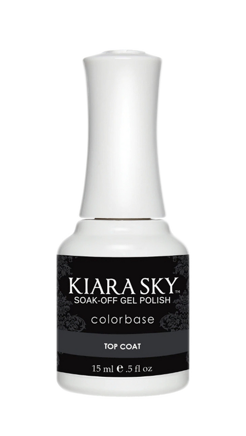 Kiara Sky Gel Top Coat, 0.5oz KK1106