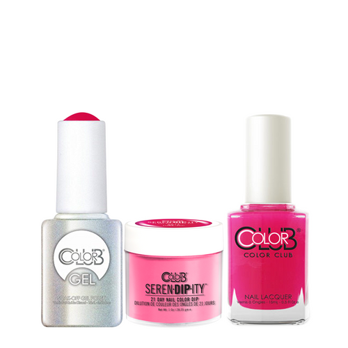 Color Club 3in1 Dipping Powder + Gel Polish + Nail Lacquer , Serendipity, Tube Top, 1oz, 05XDIPNR14-1 KK