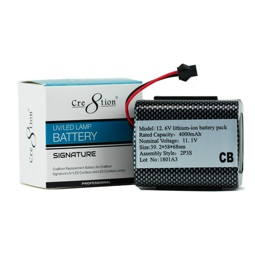 Cre8tion Replacement Battery Signature LED/UV Lamp, 13219