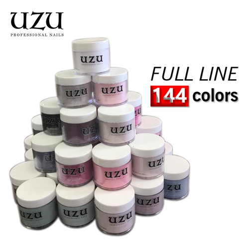 Uzu Dipping Powder (Matching DC Duo Gel), 2oz, Full line of 144 colors