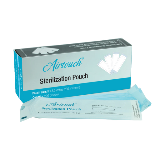Airtouch Sterilization Pouch, Medium, BOX, 03012 (Packing: 200 pcs/box, 50 boxes/case)
