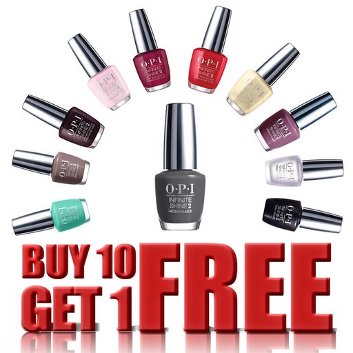 OPI Infinite Shine, 0.5oz, Buy 10 Get 1 FREE