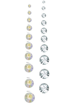 Cre8tion Rhinestones, Size 4, CLEAR, 11004 BB