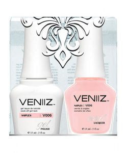 V006 - Veniiz Gel Polish + Nail Lacquer, Naples, 0.5oz
