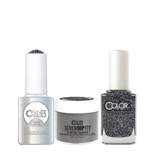 Color Club 3in1 Dipping Powder + Gel Polish + Nail Lacquer , Serendipity, VIP List, 1oz, 05XDIP8017-1 KK