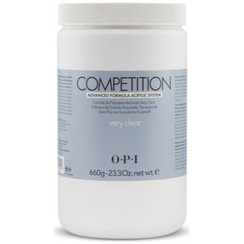 OPI Competition Powder, Very Clear, 23.3oz