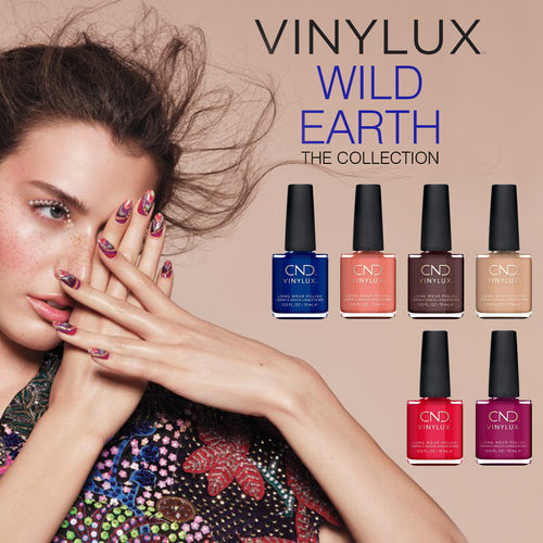 CND Vinylux, Wild Earth Collection, Full line of 6 colors (from 767187 to 767192)