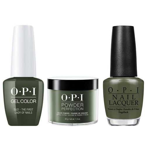 OPI 3in1, W55, Suzi - The First Lady Of Nails