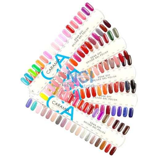 Caramia Nail Lacquer And Gel Polish, Tips Sample Full Line