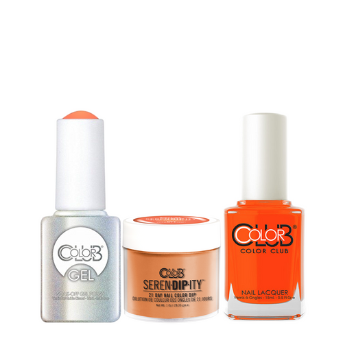 Color Club 3in1 Dipping Powder + Gel Polish + Nail Lacquer , Serendipity, Wham! Pow!, 1oz, 05XDIPN03-1 KK