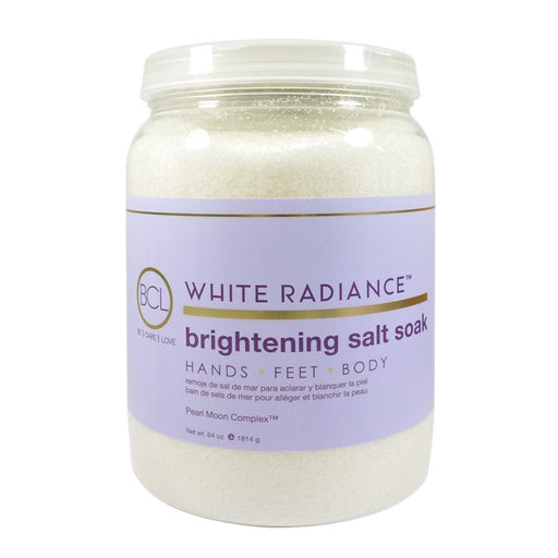 BCL SPA, White Radiance Brightening Salt Soak, 64oz