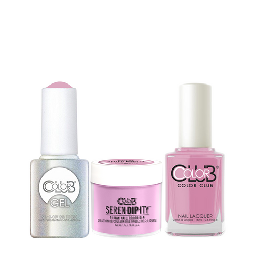 Color Club 3in1 Dipping Powder + Gel Polish + Nail Lacquer , Serendipity, Wicker Park, 1oz, 05XDIP1004-1 KK