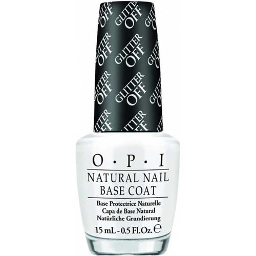 OPI Nail Lacquer, NT B01, Glitter-Off Peelable Base Coat, 0.5oz KK0807
