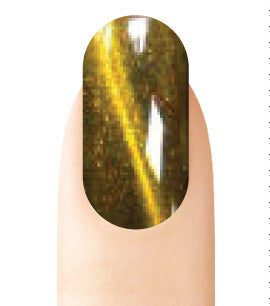 Cre8tion Cat Eye Glaze Gel Polish, 0916-0473, 0.5oz, CE24 KK1010