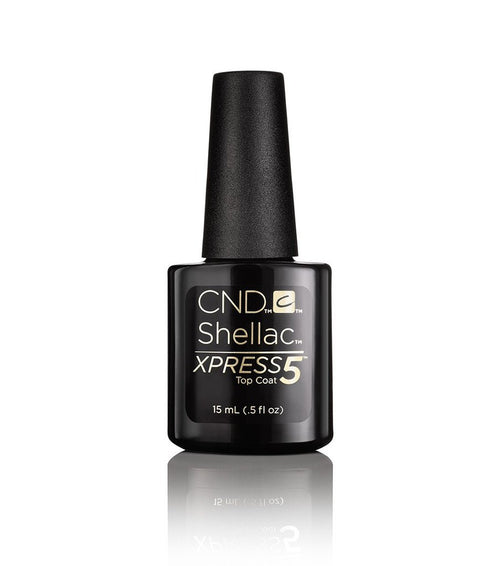 CND Shellac Gel Polish, 90929, Xpress 5 Top Coat, 0.5oz KK1121