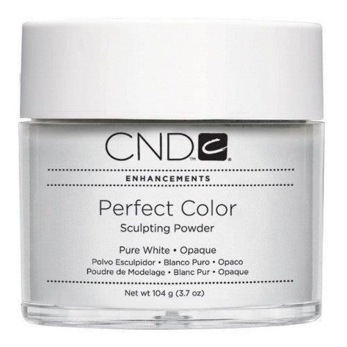 CND Perfect Color Sculpting Powders, 03054, Pure White (Opaque), 3.7oz KK0730