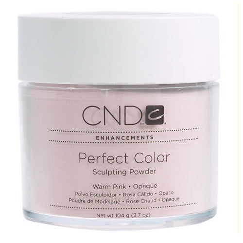 CND Perfect Color Sculpting Powders, 03236, Warm Pink - Opaque, 3.7oz KK1129