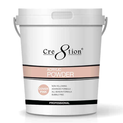Cre8tion Acrylic Powder, Cover Pink, 25 lbs, 01440