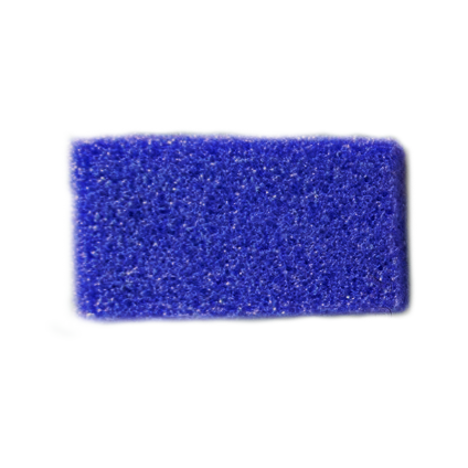 Airtouch Disposable Mini Pumice Sponge, BLUE, 400 pcs./box, 4boxes/case OK0714VD