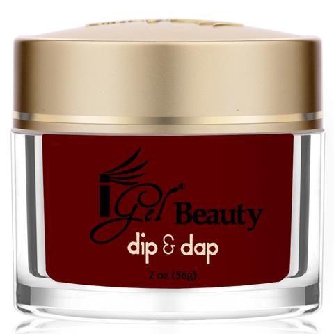 Dip & Dap Dipping Powder, DD034, Dark Crimson, 2oz KK1003