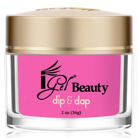 Dip & Dap Dipping Powder, DD046, Toxic Pink, 2oz KK1003