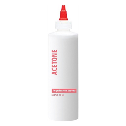Airtouch Empty Bottle, ACETONE, 16oz (Packing: 100 pcs/case) OK0817VD