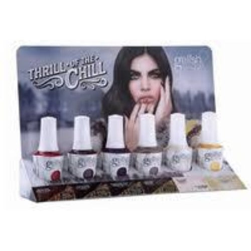 Gelish Gel 4, Thrill Of The Chill Collection, 0.5oz, Full Line of 6 colors (from 1110280 to 1110285, Price: $14.95/pc)
