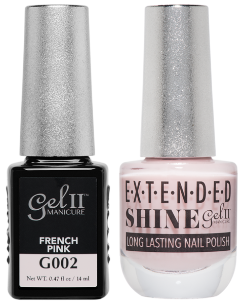 Gel II Manicure And Extended Shine, G002, French Pink, 0.47oz KK