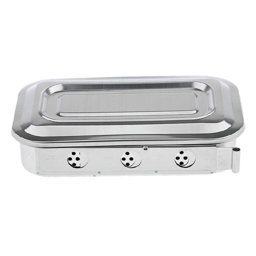 Cre8tion Stainless Steel Sterilizing Box, 03212 KK0709