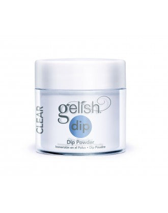 Gelish Dip Powder, Clear, 3.7oz
