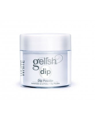 Gelish Dip Powder, White Creme, 3.7oz