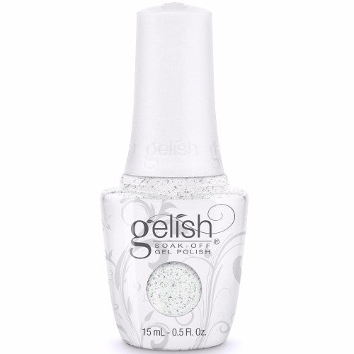 Gelish Gel 5, 1110279, Little Miss Nutcracker Collection, Silver In My Stocking, 0.5oz BB KK