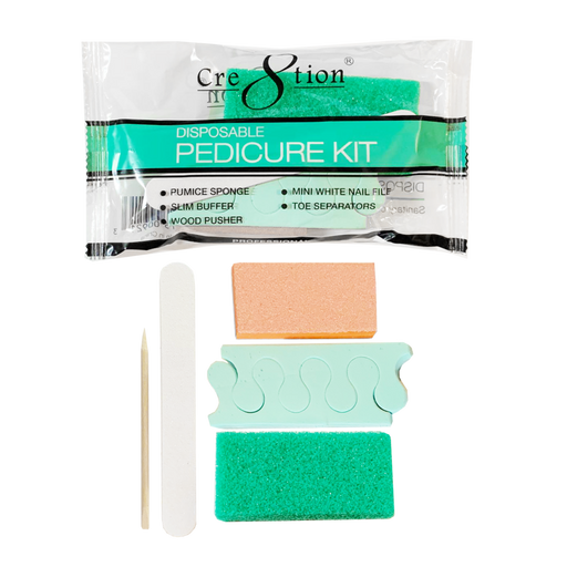 Cre8tion Disposable Pedicure Kit B, 19341 KK1018