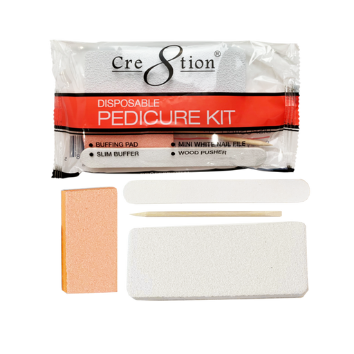 Cre8tion Disposable Pedicure Kit D, 19422 KK1018