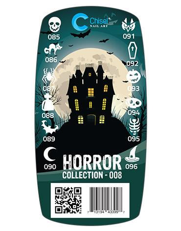 Chisel 3D Stamps, #08, Horror Collection KK