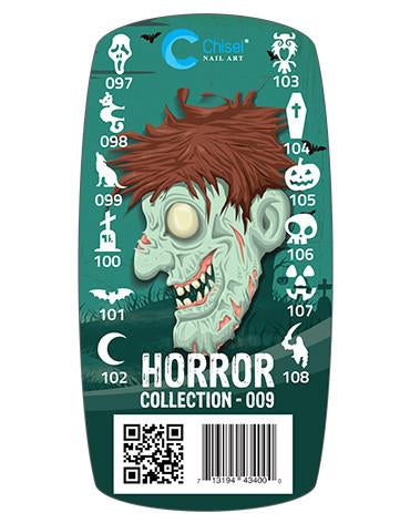 Chisel 3D Stamps, #09, Horror Collection KK