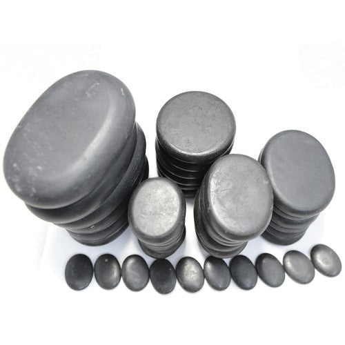 Cre8tion Massage Hot Stone, Set 40pcs, 24011N KK