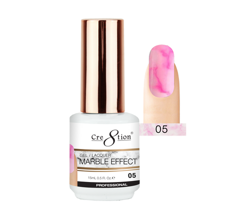 Cre8tion Marble Effect Gel / Lacquer, 05, 0.5oz, 0916-2066 KK1009