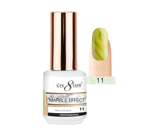 Cre8tion Marble Effect Gel / Lacquer, 11, 0.5oz, 0916-2072 KK1009