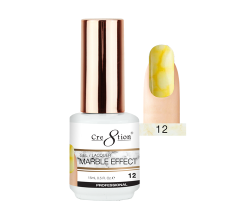 Cre8tion Marble Effect Gel / Lacquer, 12, 0.5oz, 0916-2073 KK1009