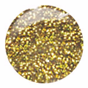 CM Nail Art, Basic, NA19, Gold Glitter, 0.33oz