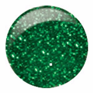 CM Nail Art, Basic, NA24, Green Glitter, 0.33oz