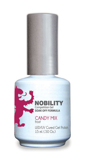 LeChat Nobility Gel, NBGP004, Candy Mix, 0.5oz