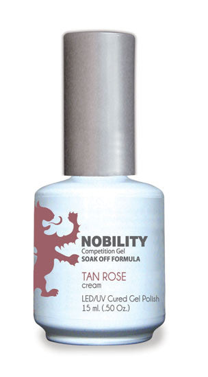 LeChat Nobility Gel, NBGP012, Tan Rose, 0.5oz