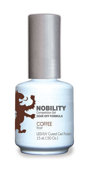 LeChat Nobility Gel, NBGP023, Coffee, 0.5oz