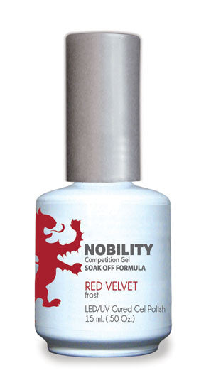 LeChat Nobility Gel, NBGP024, Red Velvet, 0.5oz
