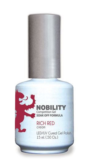 LeChat Nobility Gel, NBGP031, Rich Red, 0.5oz