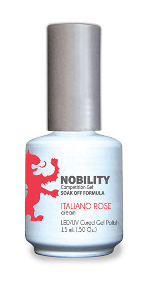 LeChat Nobility Gel, NBGP033, Italiano Rose, 0.5oz
