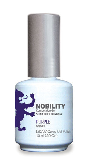LeChat Nobility Gel, NBGP037, Purple, 0.5oz