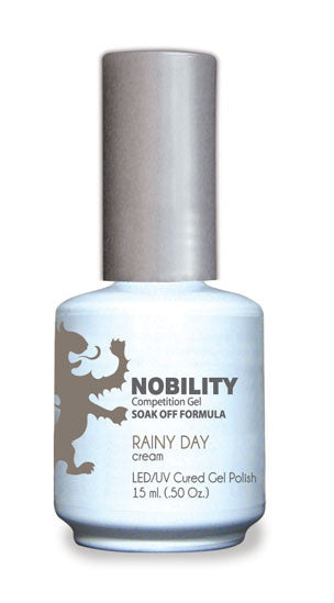 LeChat Nobility Gel, NBGP042, Rainy Day, 0.5oz